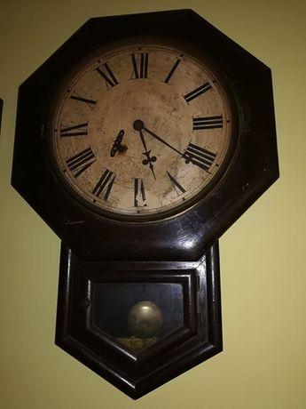Ansonia Clock Cº U.S.~Relógio antigo de parede