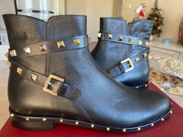 Ботинки Valentino Кожа р.38