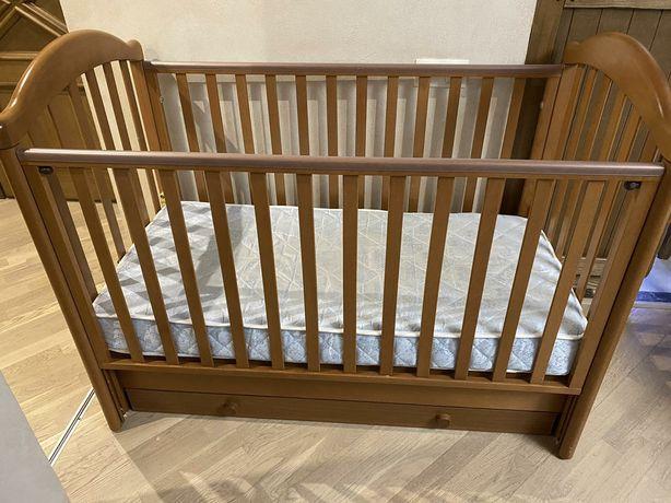Детская кроватка Baby-Italia Euro Sliding с маятником miele