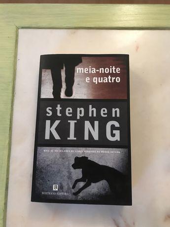 Stephen King -meia-noite e quatro