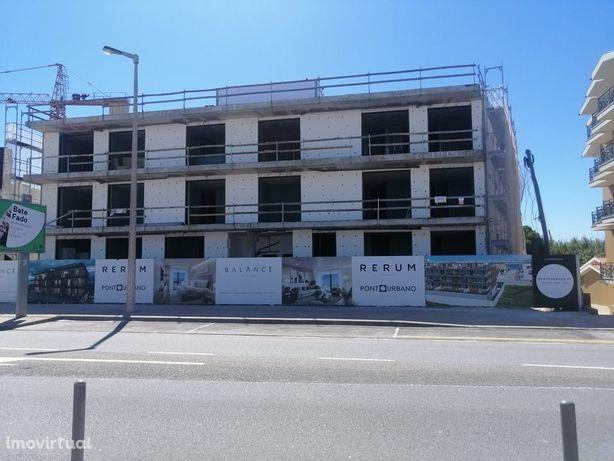 Apartamento T2+1 novo na Praia da Costa Nova com Terraço