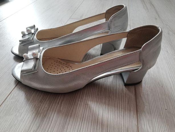 Buty ślubne polskie PRESTIGE rozmiar 37