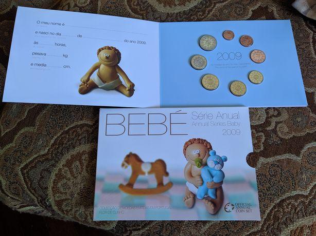Coleção moedas série bebé 2009