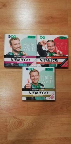 Pons Niemiecki początkujący , książki , płyty