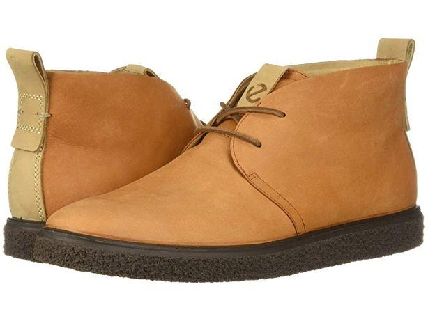 Кожаные ботинки-дезерты Ecco Crepetray! Оригинал! р.37/24 см