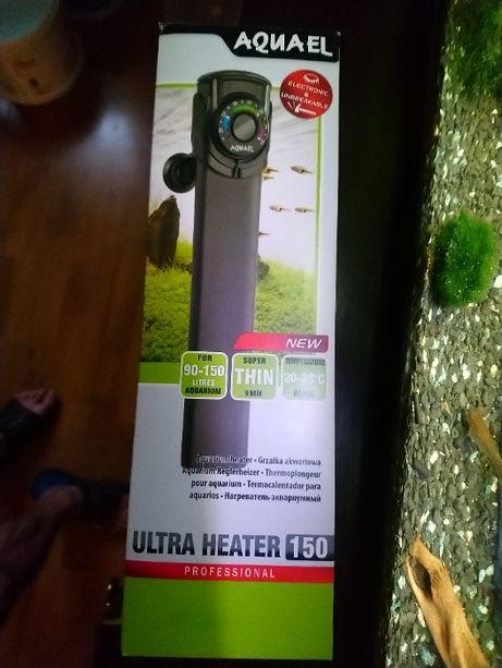 Grzałka AQUAEL Ultra Heater 150 plastikowa nie tłukaca sie cienka