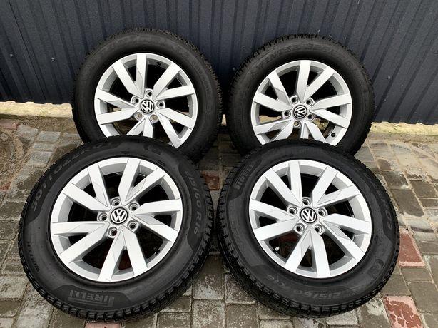 титани volkswagen оригинал з резиною зима Firelli 6.5Jx16 5*112