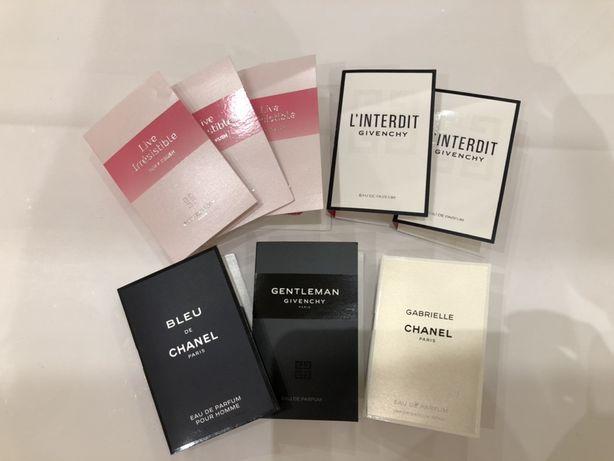 Пробники оригинальных духов Chanel,Givenchy,Dior,Lancome,Kenzo