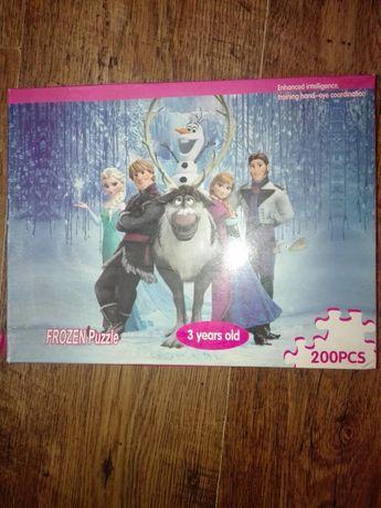 Puzzle Frozen 200 elementów