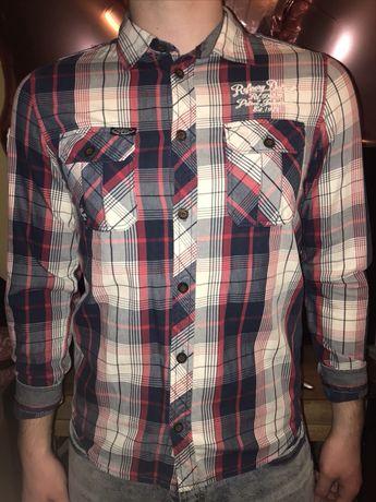 Брендовая рубашка на мальчика подростка