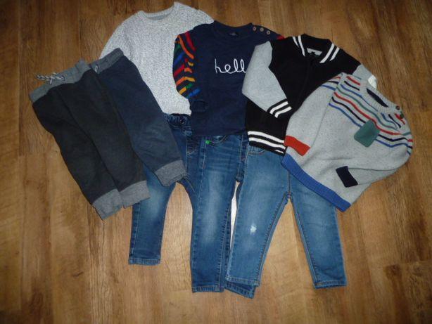 next Комплект -джинсы и джемпер Некст на 1-2 года