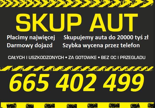 Skup aut do 15 tys zl Kasacja Pojazdów Złomowanie Wysokie Ceny!!!