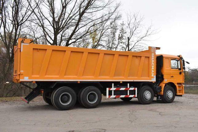 Самосвал Shacman 8×4 40 тонн.