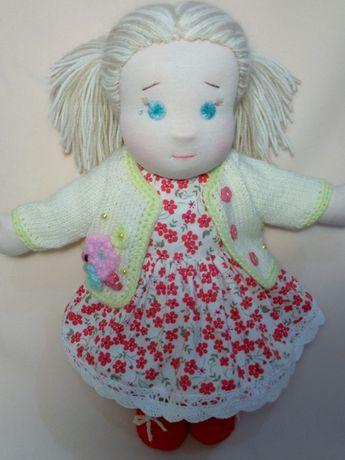 Кукла трикотажная вальдорфская. 45 см.