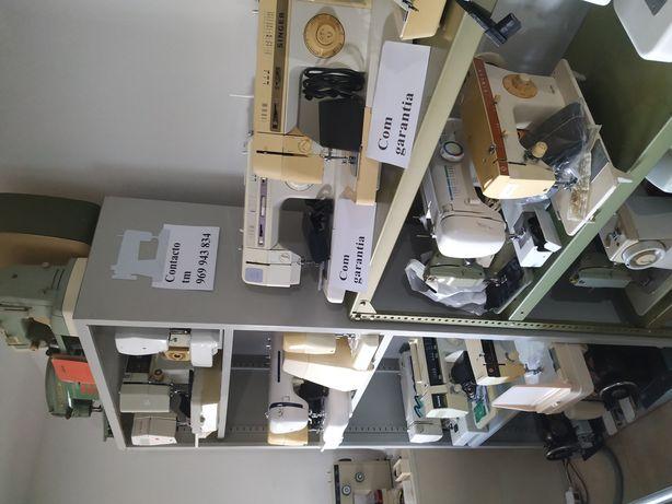 Venda e reparação máquinas de costura