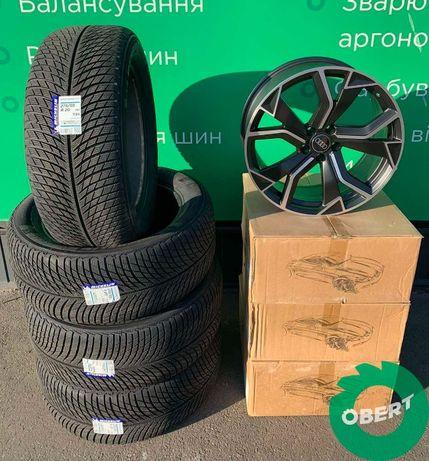 Диски R20 + зимняя шина Michelin + TPMS на Audi Q8 SQ8 VW Touareg