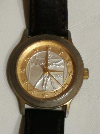 Relógio comemorativo entrada União Europeia 2002