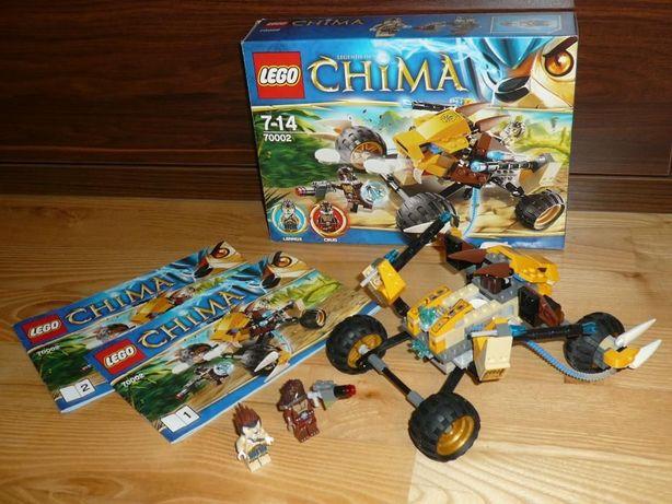 LEGO Legends of Chima Lwi Atak Lennoxa 70002 jak nowe !