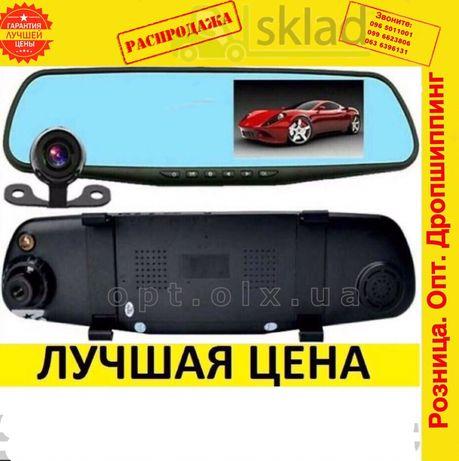 Зеркало видеоРегистратор с камера заднегоВида для вАвто машину 2Двумя