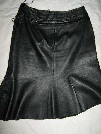 кожаная юбка кожанная юбочка