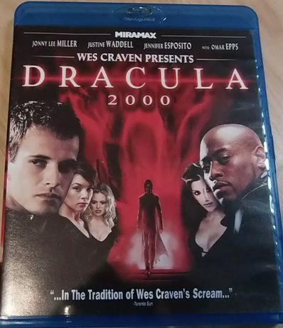 """Dracula 2000"" Wes Craven Blu-Ray USA bez PL !!UNIKAT!!"