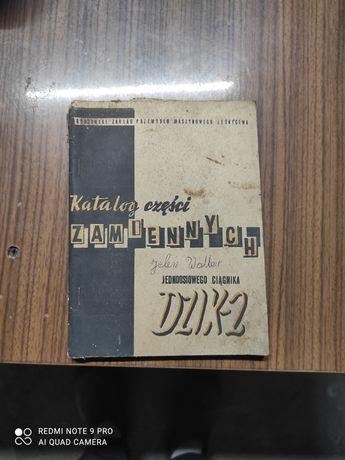 Katalog części zamiennych DZIK 2