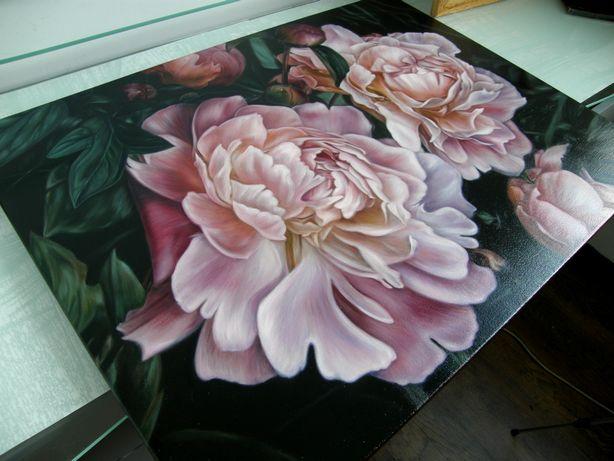 """Картина """"Півонії"""". Ручна робота. Квіти. Олійні фарби на полотні."""