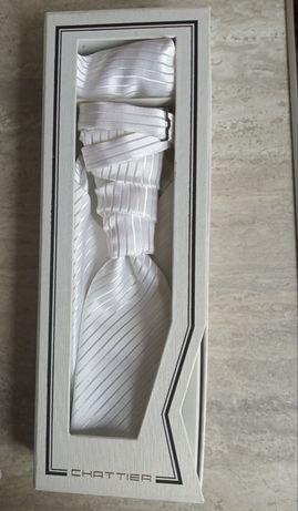 Musznik ślubny biały chattier collection