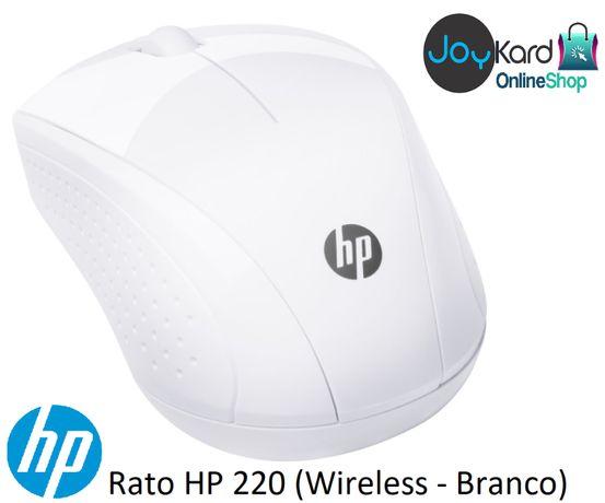 Rato HP 220 (Wireless - Branco)