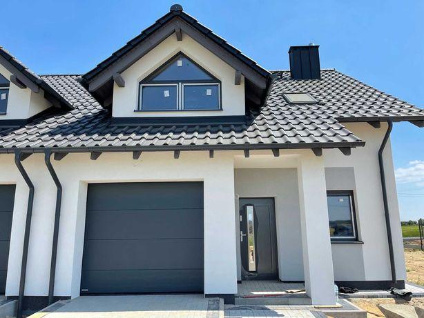 Domy w zabudowie bliźniaczej, bogaty standard wykończenia