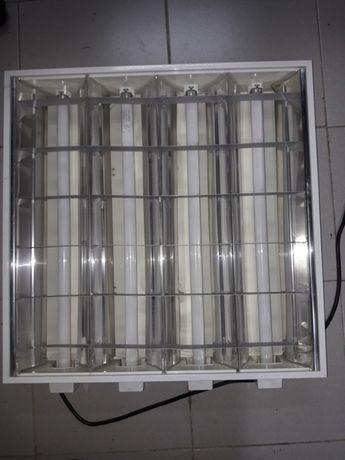 Armaduras Iluminação de teto com lampadas