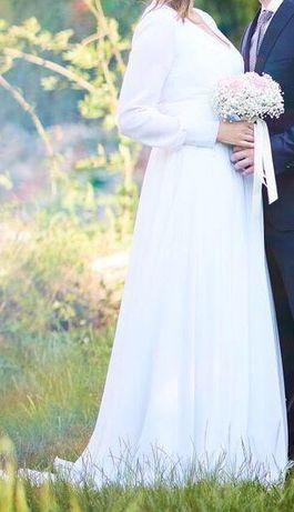 Piękna suknia ślubna XL