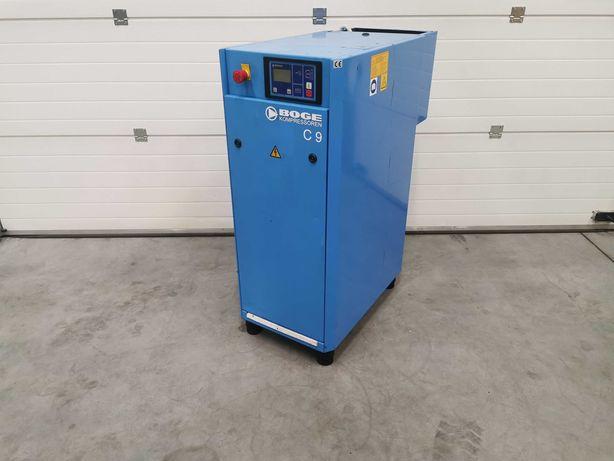 Sprężarka śrubowa 7.5kw BOGE C9 kompresor 1200l/min 8.5bar