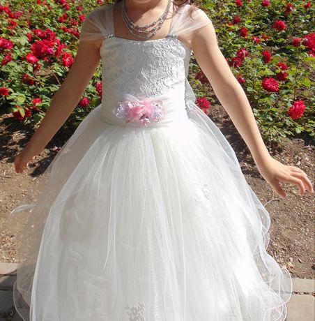 Платье пышное выпускное нарядное для девочек девочки