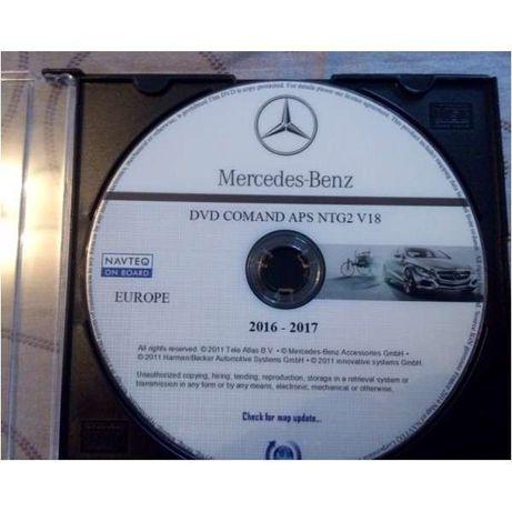 DVD / CD Mercedes - Atualização GPS / Navegação