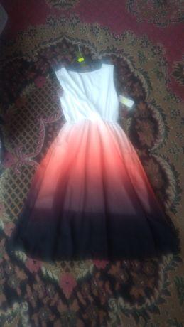 Nowa sukienka ombre wesele bal sylwester