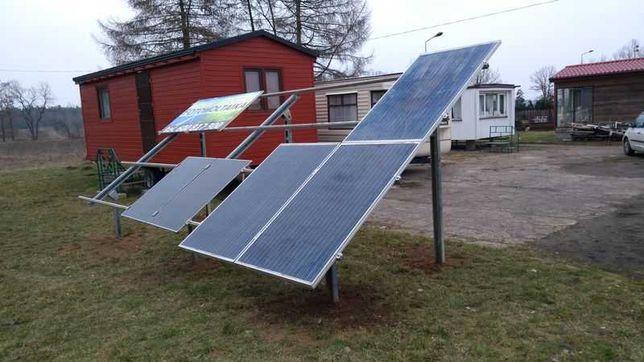 zestaw 3,6 KW panele PV  SOLARNE Komplet z konst.naziemna firmy Hilti