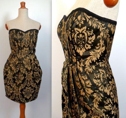 sukienka N&M sylwester karnawał 36