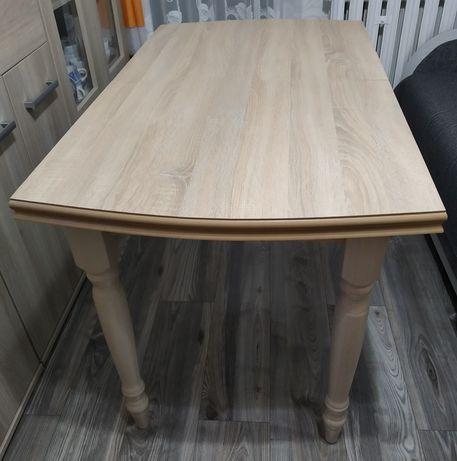 Nowoczesny zgrabny stół rozkładany 120-160/70