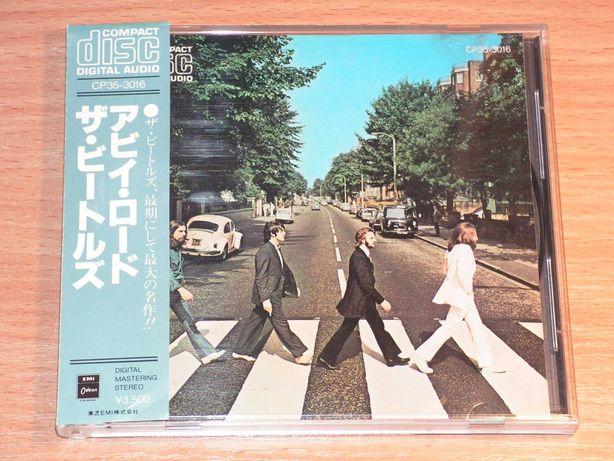 The Beatles - Abbey Road CP35-3016 OBI Japan Black triangle