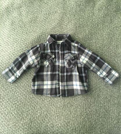 Рубашка детская байковая