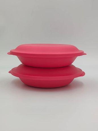 1 Prato Duplo Tupperware