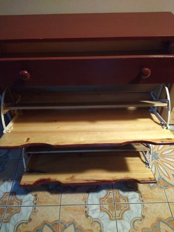 Szafka na buty - 2 półki i szuflada