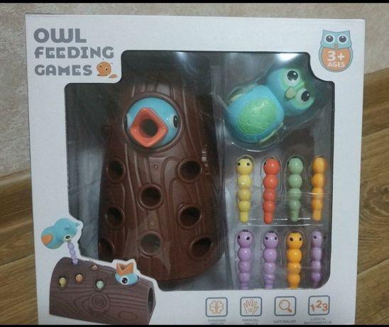 Новая развивающая игрушка, накорми птенца