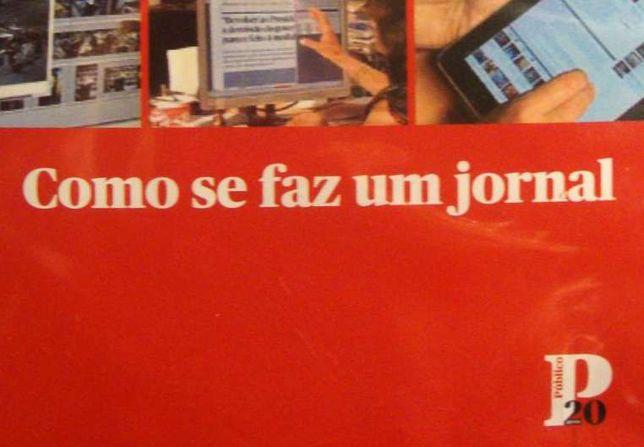 """DVD pedagógico """"Como se faz um jornal"""", do Público"""