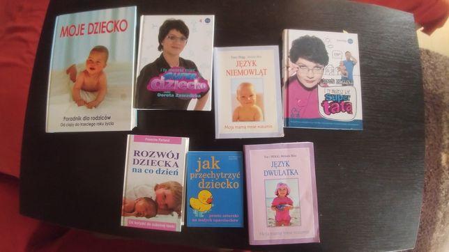 Zestaw książek dla przyszłych mam i świeżo upieczonych
