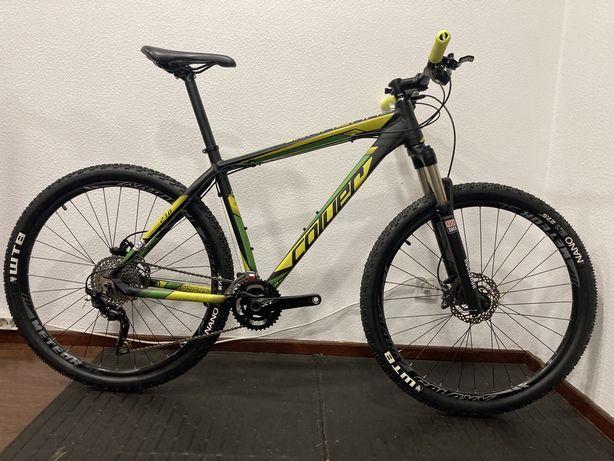 Bicicleta btt roda 27,5 full shimano xt coluer Pragma