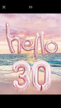Balões aniversário 30 anos