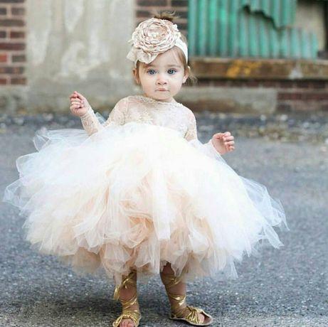 Детское платье. Платье на годик.