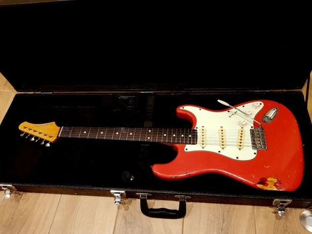 Kauffmann Stratocaster 63-S_Nitro_Fender Custom Shop_Butik_ideał